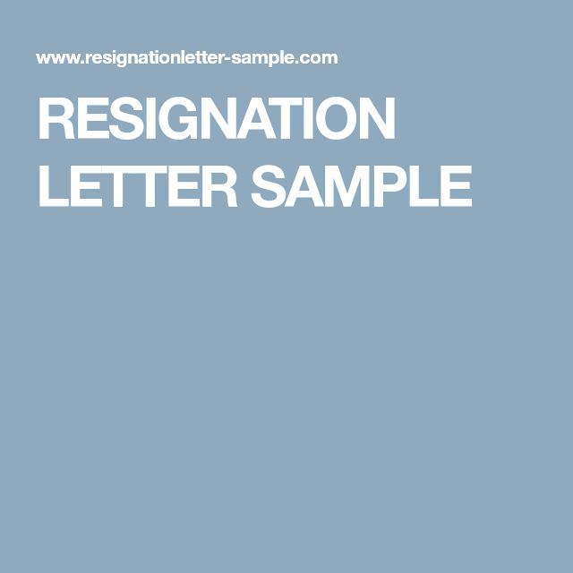 25+ de idei unice despre Resignation sample pe Pinterest - standard resignation letter