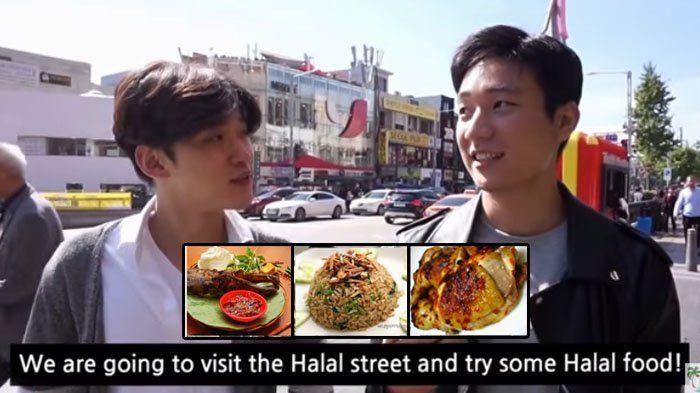 Begini Reaksi Pria Korea Selatan Saat Mencoba Makanan Halal Indonesia, Ada yang Beda?