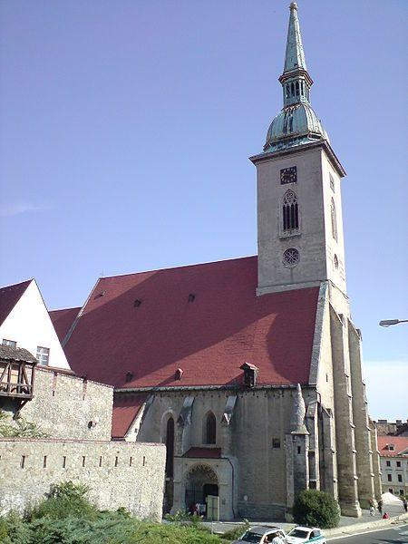 Slovenčina: Katedrála sv. Martina, Bratislava