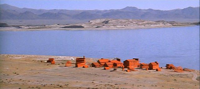 High Plains Drifter The Town Of Lago After It Was