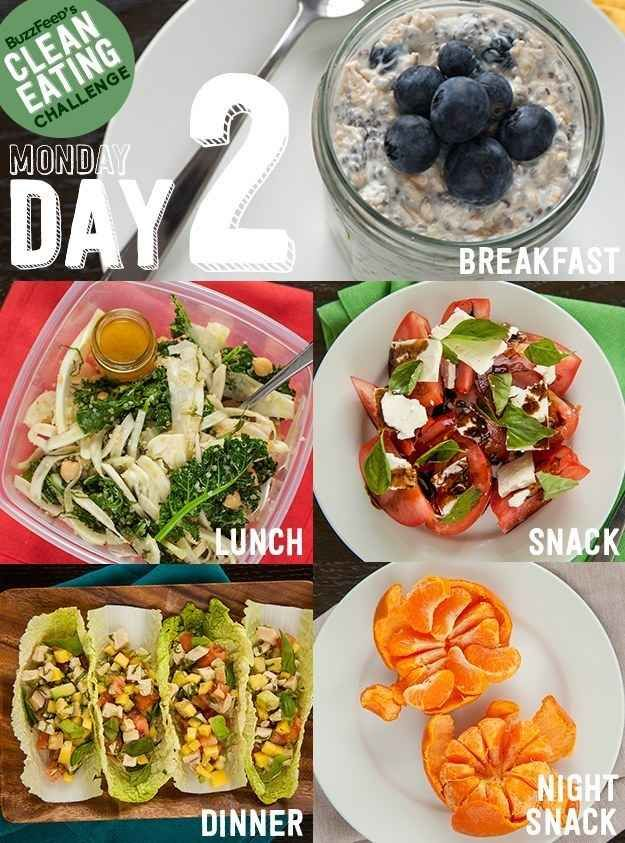 Day 2 Of The Clean Eating Challenge