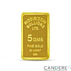 Certified pure 5 gms Gold bar with tamper proof packaging, embossed with gold purity and weight. and also get current gold rate today in mumbai click here  http://www.candere.com/5-gms-24-kt-gold-coin-995-purity.html