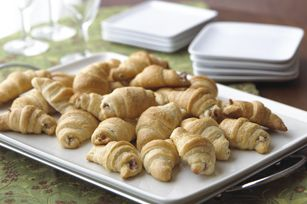 Cream Cheese Bacon Crescents.  yummy and easy peasy.  perfect for late-morning munchies at family Christmas.