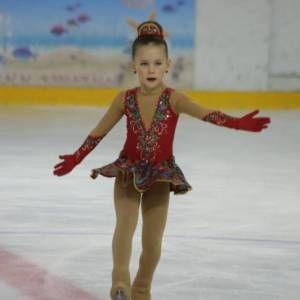 Костюм для фигурного катания в стиле 70-х - Костюмы для фигурного катания  - Ателье Маруся пошив костюмов платьев для танцев, спорта