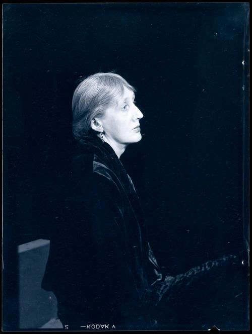 Man Ray: Photographs of Virginia Woolf | A Piece of Monologue: Literature, Philosophy, Criticism