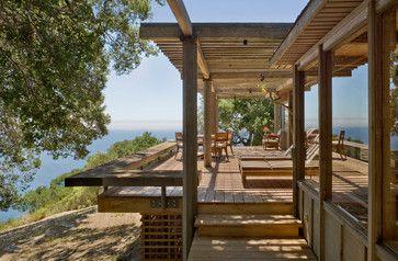 Big Sur Cabin - rustic - Deck - San Francisco - Studio Schicketanz