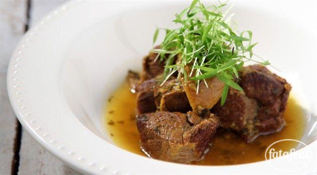 فتافيت طنجية لحم الضأن والليمون المخلل African Food Food Meat