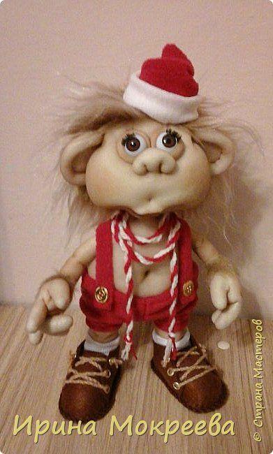 Куклы Новый год Шитьё Новогодняя обезьянка Капрон фото 1