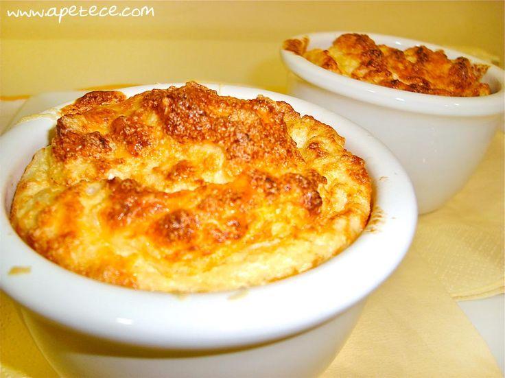 soufle de coliflor y queso