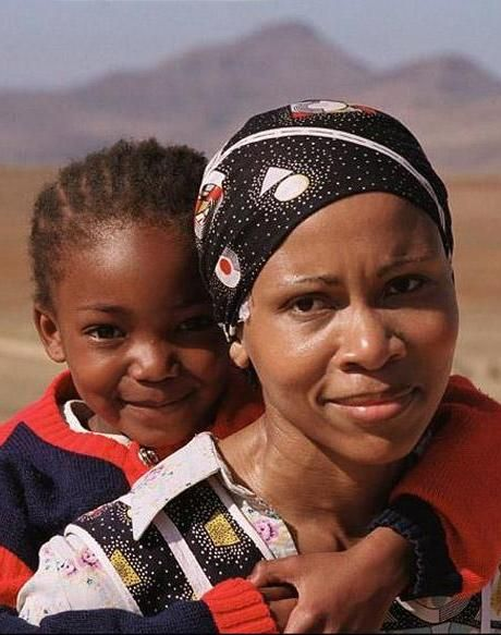 Mother and child, Soweto, South Africa