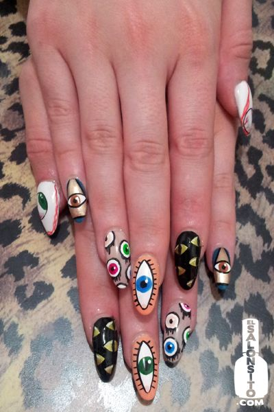 #NailArt // Eye see you!