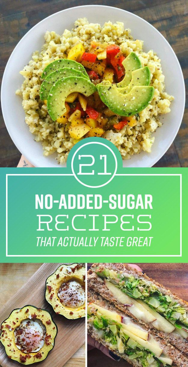 21 No-Added-Sugar Recipes That Actually Taste Great