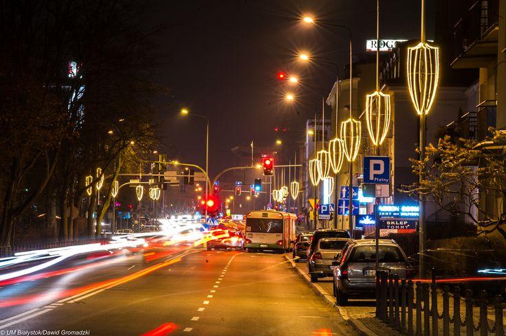 Świątecznie :) #Lipowa #Bialystok fot. Dawid Gromadzki