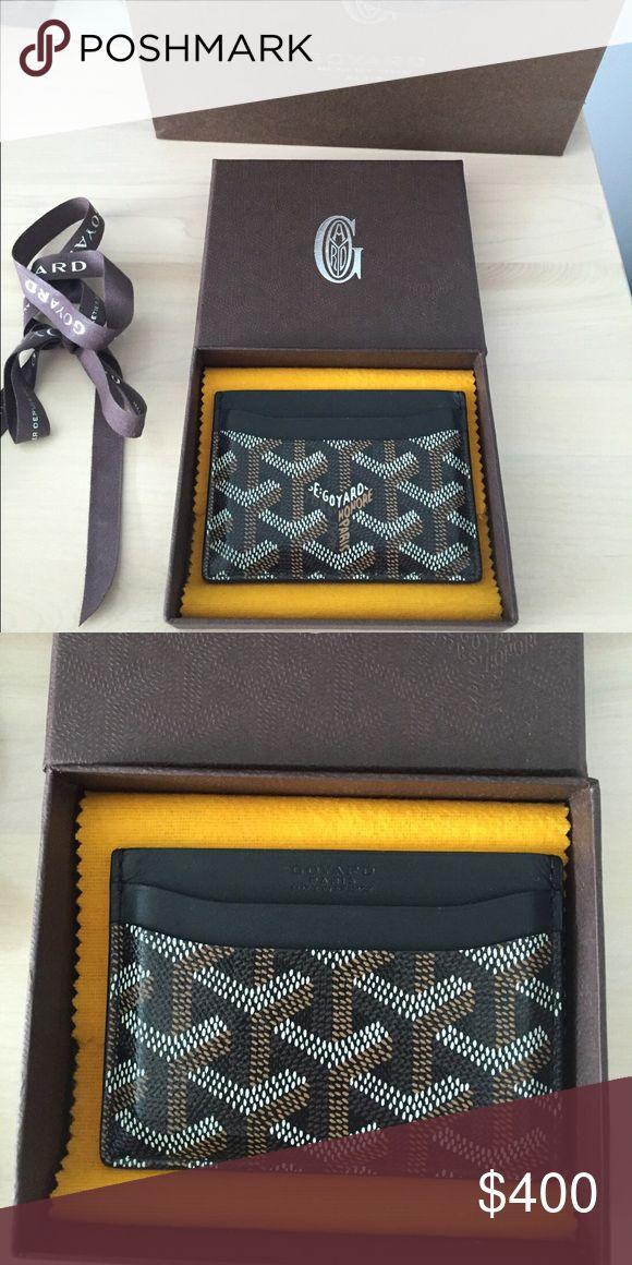 Goyard card holder Goyard card holder brand new with tags 100% authentic Goyard Accessories Key & Card Holders