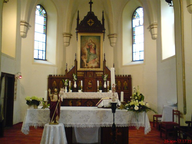 Lepsény Római Katolikus templom- Hungary