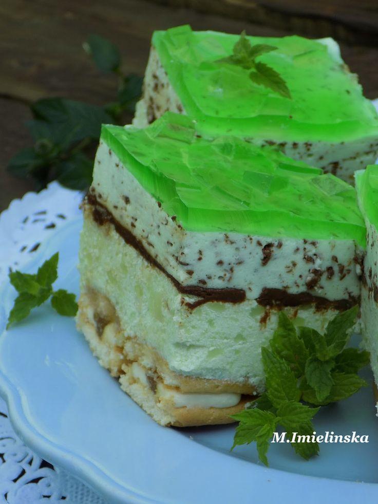 Domowa Cukierenka - Domowa Kuchnia: miętowa straciatella (bez pieczenia)
