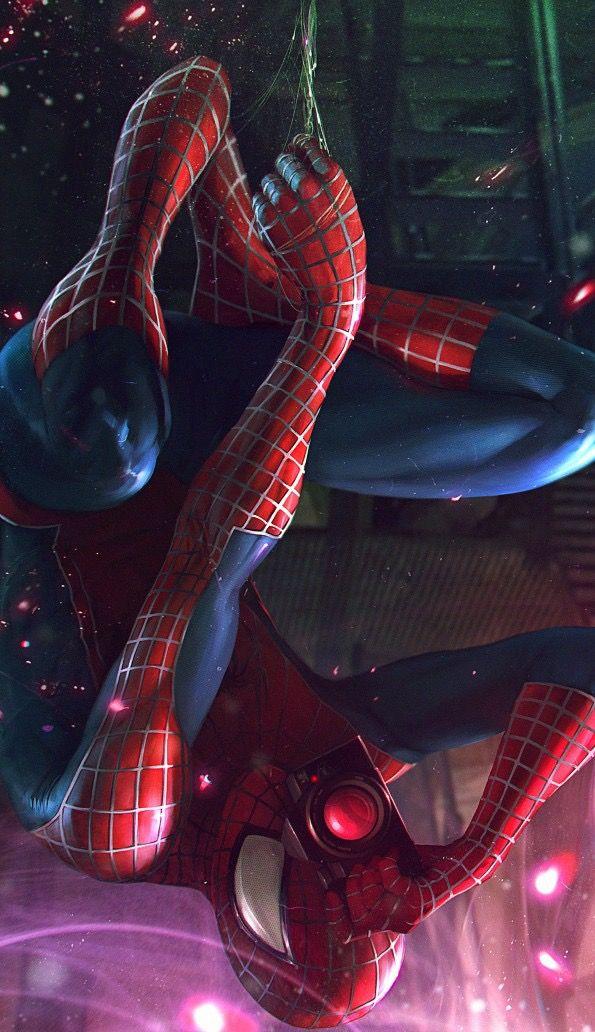 другой картинки человека паука вселенную показа гуляли шпионские
