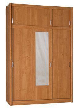 Skříň GENTOFTE 3 dveře olše 143x220x62