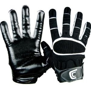 Cutters Adult The Gamer Black Receiver Gloves - Medium - Equipment - Football - Gloves - Receiver. Cutters Adult The Gamer Black Receiver Gloves Padded glove with feel of high-performance receiver glove. C-TACK material on the entire palm. Ventilated palm. Superior finger flexion. Meets NFHS standards. Call for Team Pricing. Adult Si - Equipment - Football - Gloves - Receiver - Medium - Equipment - Football - Gloves - Receiver