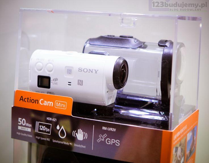 SONY Action Cam HDR-AZ1VR. Recenzja opinie testy123 Budujemy budowa domu