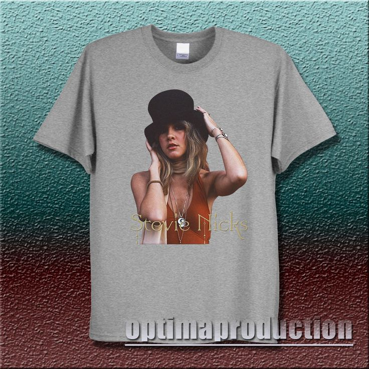 stevie nicks fleetwood mac shirt tshirt clothing unisex adult rumours rare S-2XL #unbranded #BasicTee