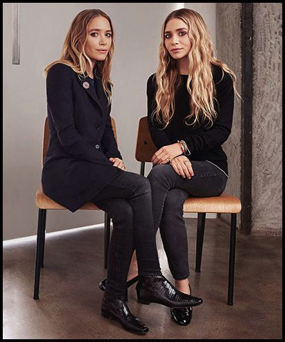 Mary-Kate & Ashley Olsen #style #fashion #olsentwins #mka