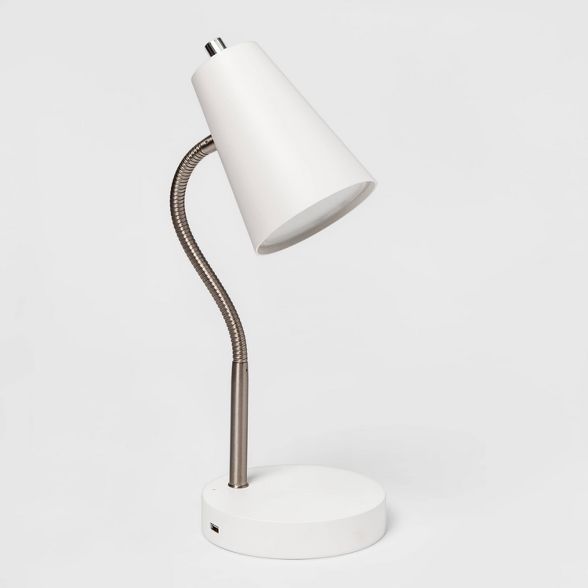 Wireless Charging Table Lamp Includes Energy Efficient Light Bulb Room Essentials In 2021 Energy Efficient Light Bulbs Table Lamp Lamp