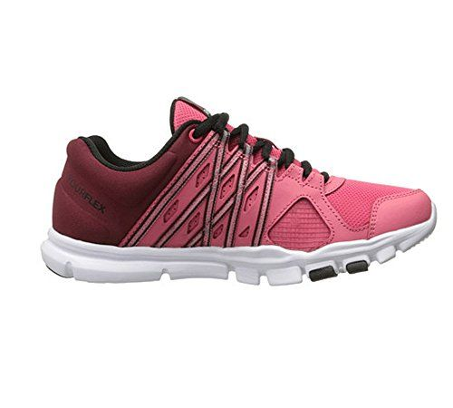 Reebok Womens Yourflex Trainette 80L MT Training Shoe Fearless  PinkMerlotBlackWhite 5 M US >>>