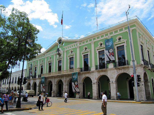 Government Palace (Palacio del Gobierno), Main Square, Merida, Yucatan, Mexico by Bencito the Traveller, via Flickr