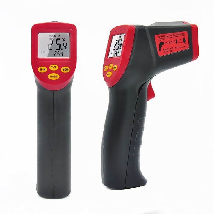 A530 Laser LCD Digital IR Infrared Thermometer Temperature Meter Gun Point -32~550 Degree Non-Contact No Contact Thermometer
