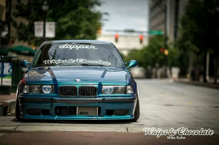 Bmw E36 M3 Teal Slammed Stance Dapper Whips Amp Chocolate