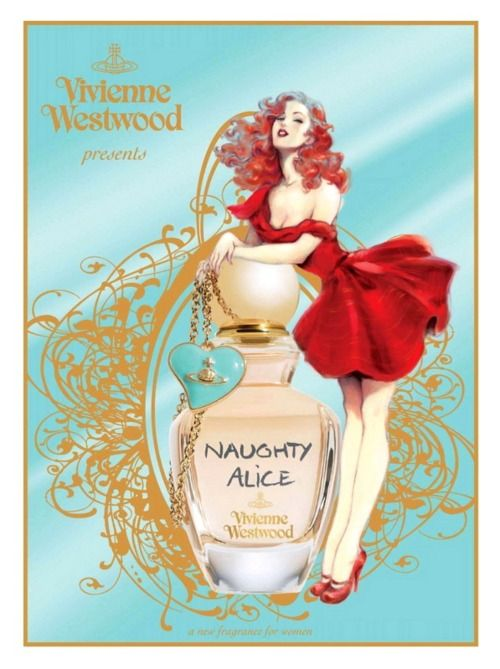 Naughty Alice by Vivienne Westwood ad (Art by Maly Siri)
