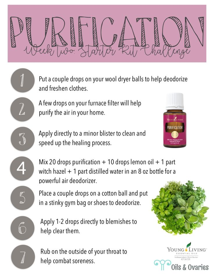 purification essential oil  oilsandovaries.com