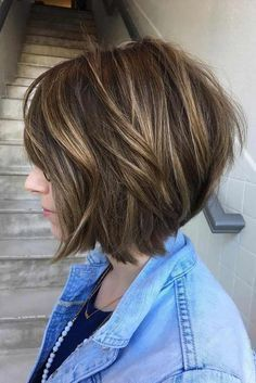 50 Trending Stacked Bob Hairstyles for Women 2018-2019