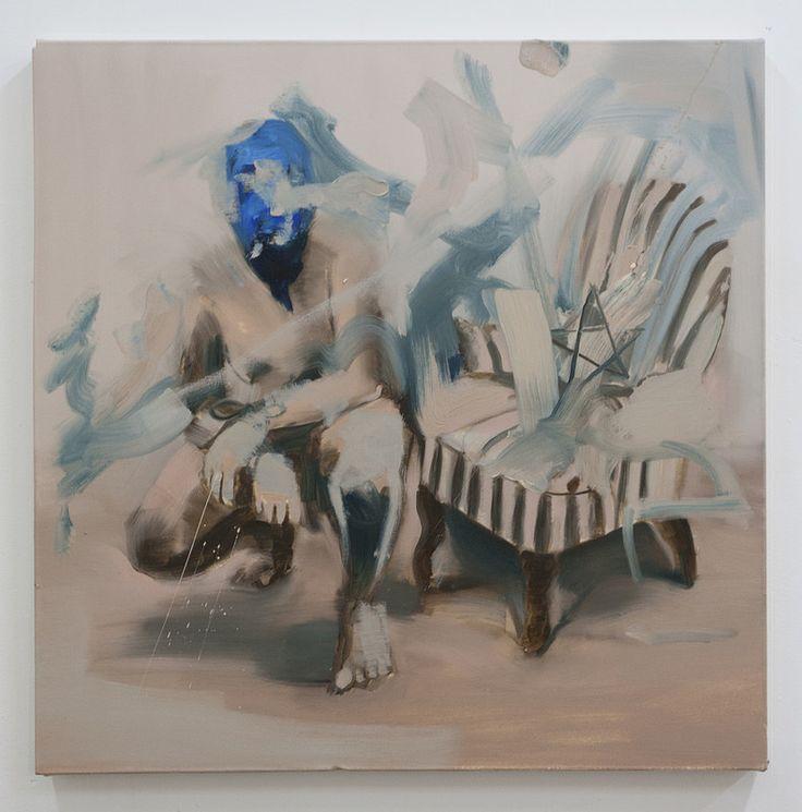 One side-other side IV  Artista: Bartosz Beda, óleo sobre lienzo, 77x77cm, 2014  Artist: Bartosz Beda, oil on canvas, 77x77cm, 2014 (300dpi)  #art #arte #contemporaryartwork #pintura #paint #bac #dibujo #drawing