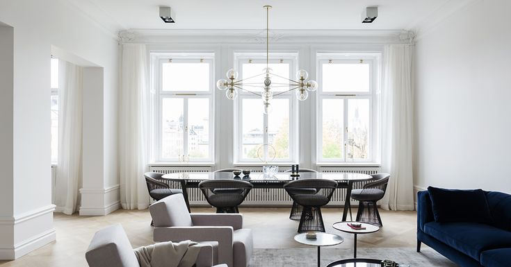 A Merry Mishap / Luxurious and light filled apartment with park views  #Architecture, #Design, #HomeDecor, #InteriorDesign, #Style