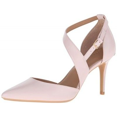 SHOES,Calvin Klein Women's Gildana Dress Pump, Blush, 5 M US
