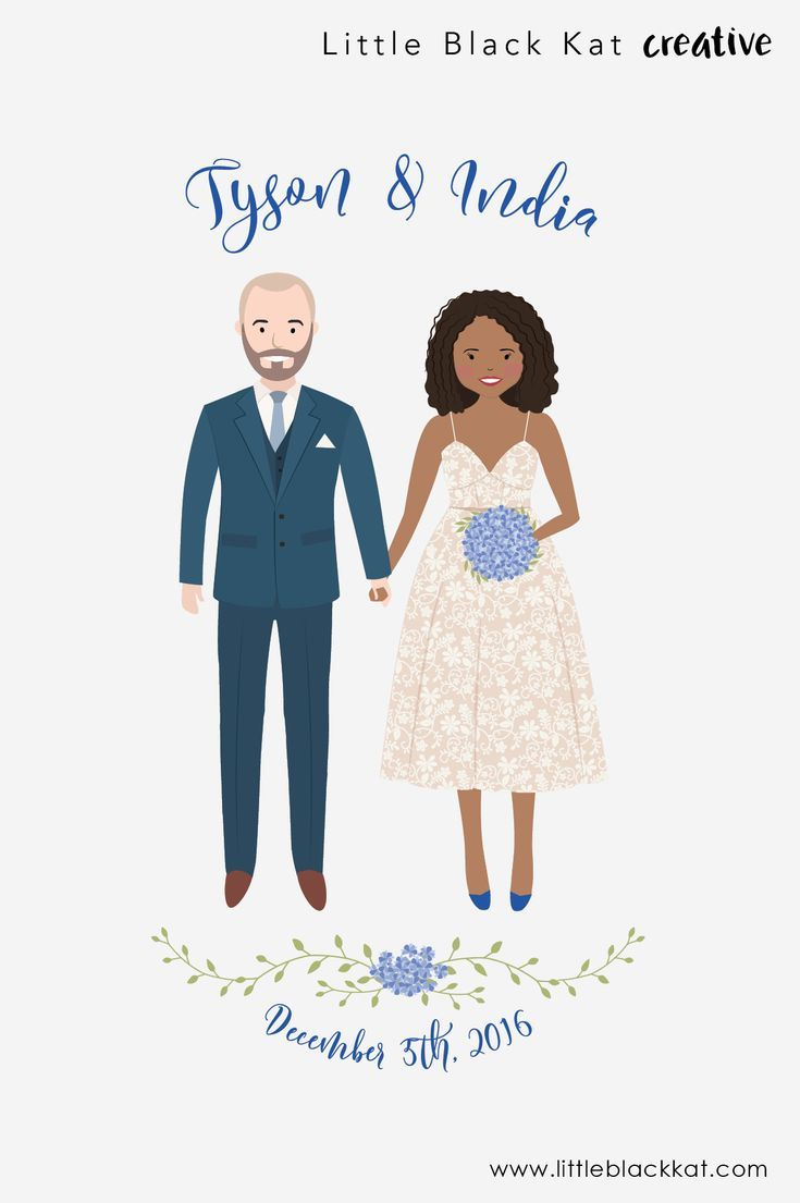 Custom Wedding Portrait Drawing Personalised Wedding Gift First Wedding Anniversary Gift Wedding Keepsake Bride And Groom Illustration Wedding Portraits Custom Wedding Personalized Wedding Gifts