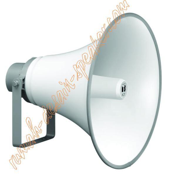 TOA Horn Speaker ZH-5025 BM, Daya Maksimal 25 Watt  Menggunaakan Matching Trafo. Suara jernih dan awet. Pemasangan cocok untuk di menara Masjid/Musholla, lapangan, sekolah dll. 4 buah ZH-5025BM cukup memakai amplifier 120W model ZA-2120. Garansi 1 tahun.  Specifications: Rated Input Selection/Impedance : 25W, 15W, 10W, 5W (100V line) Sound Pressure Level : 117dB (1W/1m) Frequency Response : 200 ~ 6.500 kHz Dimensions : (xD) 550 x 477mm Weight : 4.2kg ColorHorn : (Flare, Inner) Ash White…