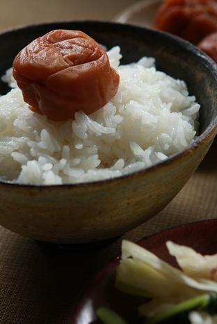 Umeboshi on Rice, Japan's Soul Food