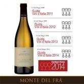 Cà del Magro awarded Tre Bicchieri Gambero Rosso #custozasuperiore #cadelmagro #montedelfra #custoza