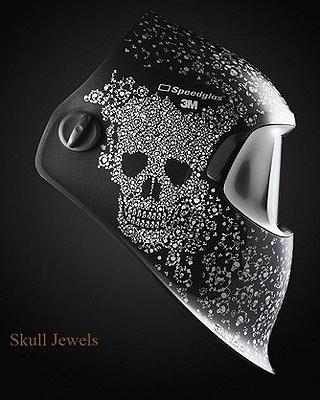 """3M™ Speedglas™ 100 Graphic Welding Helmets - """"Womens Welders Collection"""""""