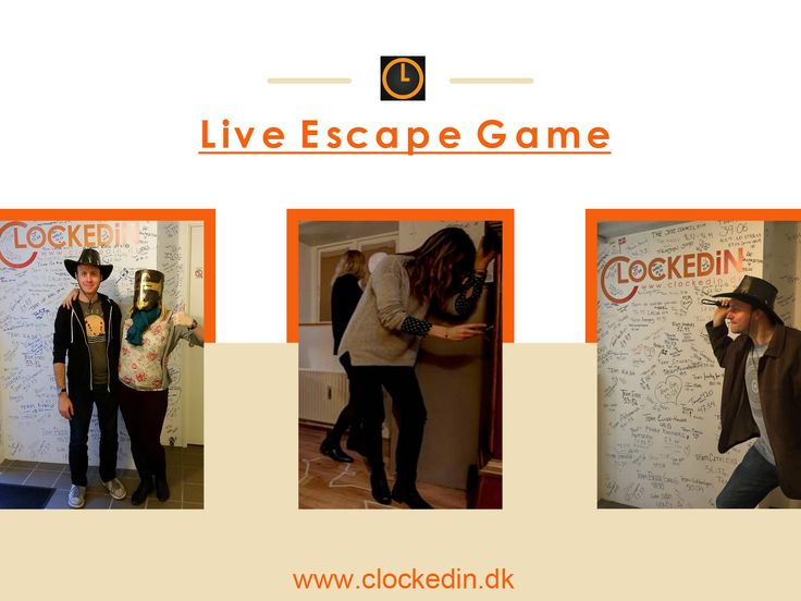 Real Fun Starts with #LiveEscapeGame. Don't Believe? Hop onto ClockedIn, #Copenhagen. Book your date online at clockedin.dk