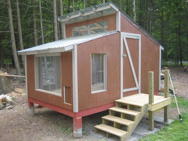 fresh air poultry houses coops | New coop build - The