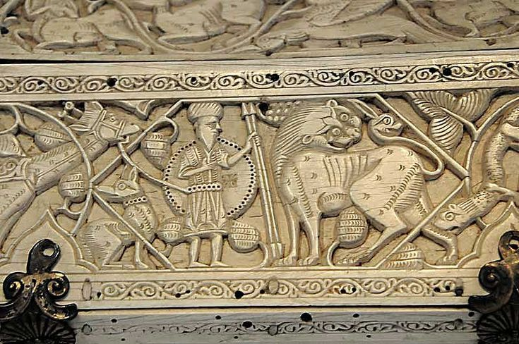 Ivory casket, Fatimid Sicily or Southern Italy, 11th-12th Centuries
