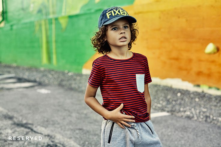 Reserved Kids SS16 #street#wear#red#stripes#t-shirt#colors