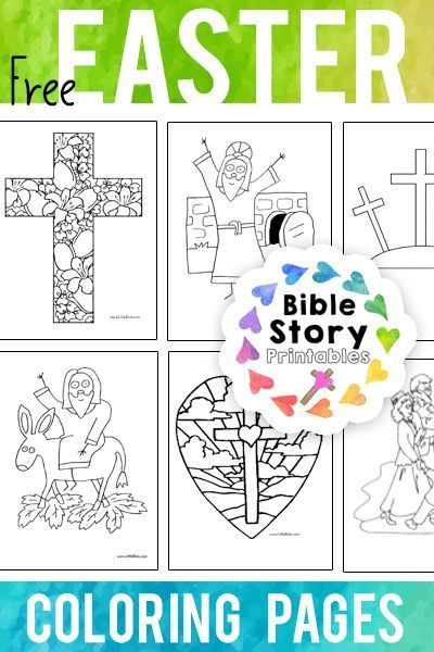 Bible Story Easter Colouring Pictures | www.picturesboss.com