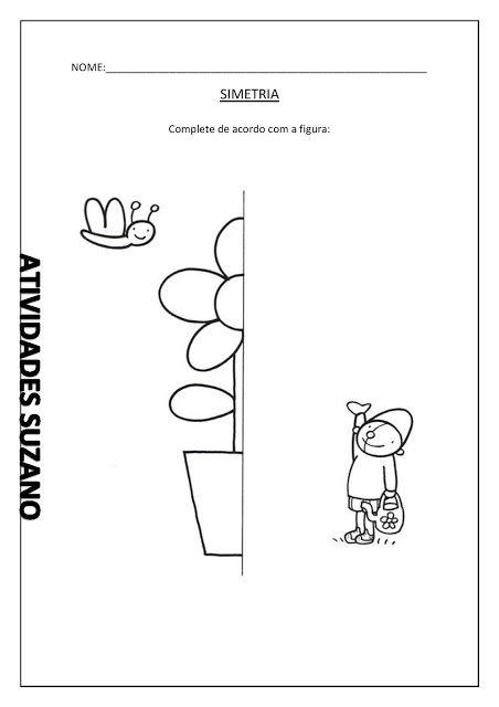 Simetria - Atividades Adriana