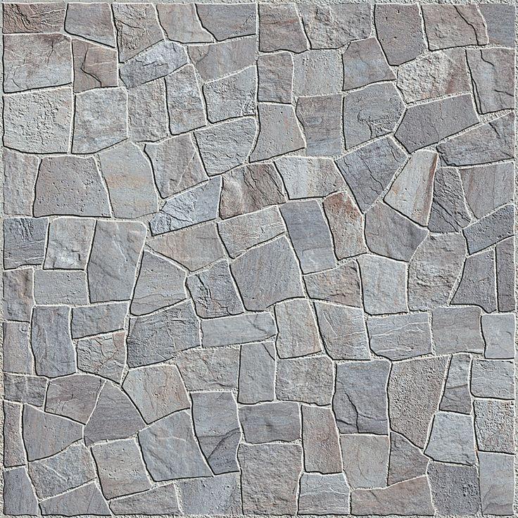 A Carmelo Fior utiliza a impressão digital para reproduzir a aparência dos mosaicos de pedra nas placas cerâmicas de 45 x 45 cm.