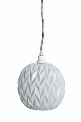 Lampeskærm i keramik - design